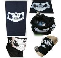Skull Design Multi Function Bandana Ski Sport Motorcycle Biker Scarf Face Mask