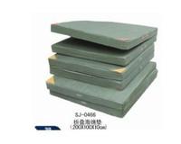 Folding gymnastics mats pad sponge high jump mat