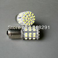 The best quality high brightness Free shipping LED  1206  64 SMD car   turn brake signal  light 1156 1157  ba15s bulb