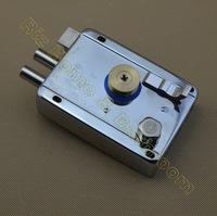 Stainless steel durable electric door lock or security lock M9219B with 6 keys