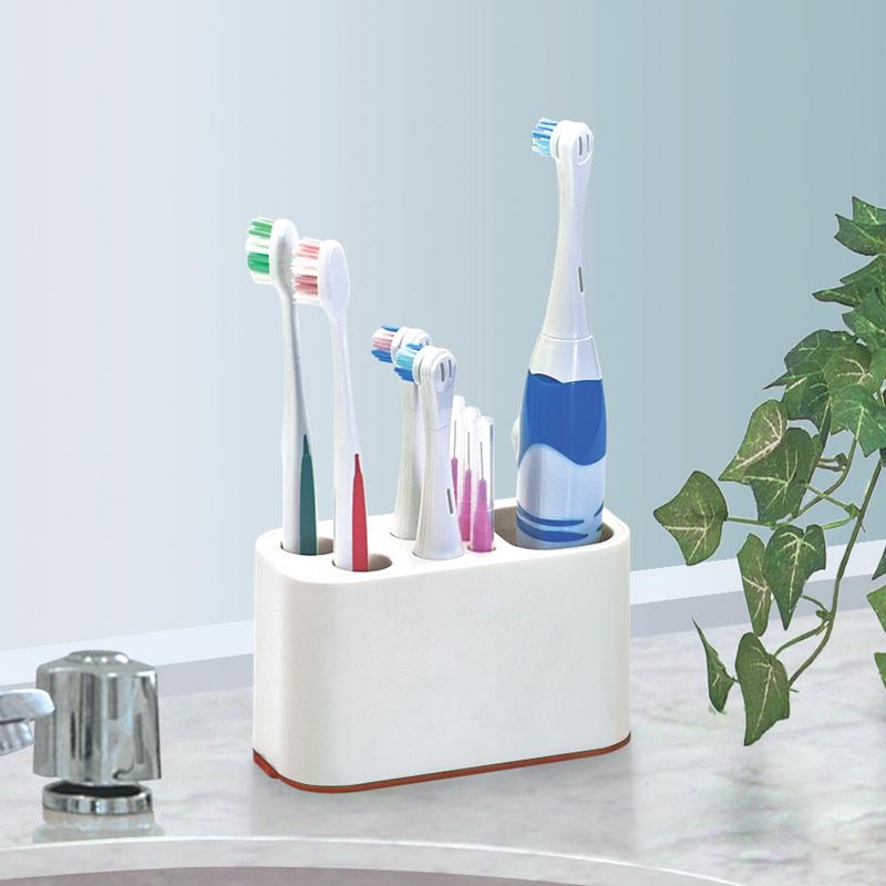 Porte brosse dents salle de bains bo te de rangement de brosse dents brosse jpg - Porte brosse a dent electrique ...