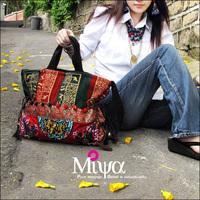 Hotselling new 2014 fashion women's handbag national trend shoulder handbag canvas bag messenger bag women's handbag