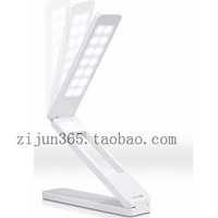Led charge table lamp eye dimming folding table lamp