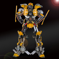 Extra large robot model decoration metal craft home decoration fashion personalized