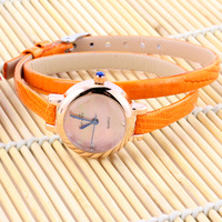 Fashion lady intellectuality delicate spirally-wound strap women's watch fashion table vintage table