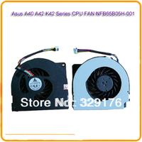 For Asus A40 A42 K42 X42 Series CPU FAN NFB65B05H-001 laptop cpu fan  notebook cpu cooling  fan  FREE Shipping
