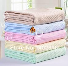 (1PCS/Lot) Bed sheet, Flat sheets, Queen Size 150x200CM,100%bamboo fiber, bamboo sheets, Jacquard Styles, 4 Colors, Bedding set(China (Mainland))