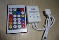 DC12V 24key IR T1829 pixel controller;72W output