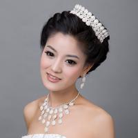 New arrival 2013 bride accessories bundle necklace earrings accessories 007