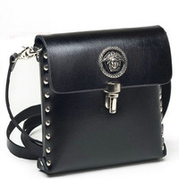 Man bag waist pack casual fashion women's cowhide cross-body handbag fashion vintage small bags