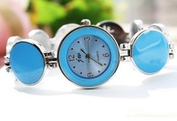 Round supply new style drip multicolor Shop women's fashion bracelet watch factory outlets 137056