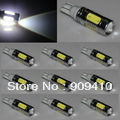 Free shipping 2pcs/lot T10 11W 168 bulb 194 W5W 11W LED Reverse Light, W5W CREE Back Lamp, T10 CREE