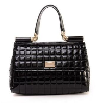 Quality portable women's handbag vintage flip leather  commercial women's one shoulder messenger