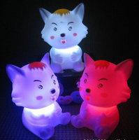 Little grey seven color allochroism nightlight flash cartoon electronic night light toy