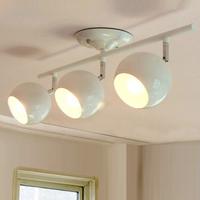 Europe Ikea 3 heads rotatable white 60cm E27 spotlight  light lamp lighting bedroom dining bar study gift free shipping