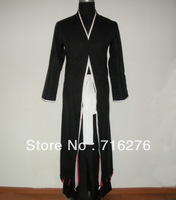 Kisstyle - Anime Bleach Cosplay - Bleach Ichigo Kurosaki Men's Bankai Cosplay Costume