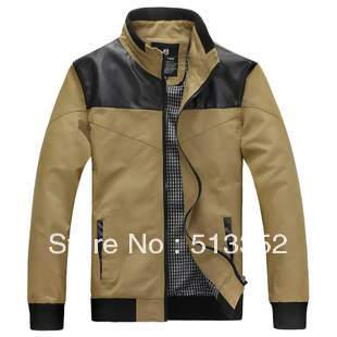 Free shipping new brand casual Spring slim all-match water wash jacket outerwear male