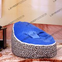 FREE SHIPPING baby bean bag with 2pcs dark blue up covers baby bean bag chair children bean bag chair bean bag seat cover