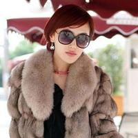 Hot-selling 2013 sunglasses fashion classic vintage women's sunglasses big frame star style glasses