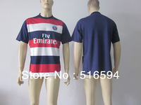 Wholesale - Newest 13-14 season top thai quality men's soccer jerseys t-shirt and short,uniform kit,20pcs
