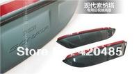 High Quality! Hyundai Sonata I45 2011 2012 Side Door Mirrors Rearview Sun Rain Guard Shield Deflector