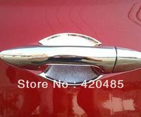 Chrome Side Door Handle Bowl Cover Trim For HYUNDAI SOLARIS VERNA i25 Accent 2011 2012
