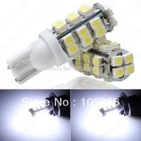 Free HK Post  T10 168 194 W5W 28 smd 1210 LED Car Wedge Turn signal Reverse LED light Bulb lammp 12V white