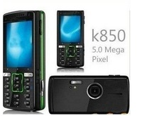 Free shipping original k850i mobile phone, unlocked cell phone 5.0MP k850