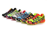 2013 new salomon outdoor shoes waterproof shoes running shoes men's  Free Post sport air mesh upper casual france walking shoes