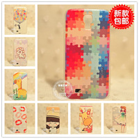 Brief cartoon commercial  for SAMSUNG   phone case i9500 . s4 4 2 phone case