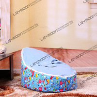 FREE SHIPPING baby bean bag chair with 2pcs purple up cover baby bean bag seat kids bean bag baby bean bag bed