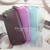 Free Shipping (20pcs/lot) TPU Matte soft case for Lenovo A298T case cover