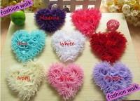 Free shipping! 30pcs Love Flower Baby Girl's Hair Flower DIY Accessories Hair Accessories Heads Flower Headwear