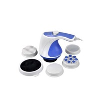 Free shipping 2013 hot sale as seen on tv Body Sculptor Massager Relax Spin Tone, with color pack 110V or 220V 24sets/lot