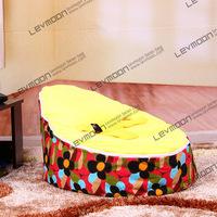 FREE SHIPPING baby bean bag chair with 2pcs golden up cover baby bean bag bean bag seat children bean bag cover