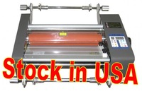 340mm Hot Cold Roll Laminator Stock in USA now.
