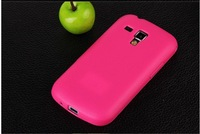 Leather texture tpu soft case for Samsung Galaxy S Duos S7562, s7560