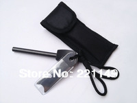 Hot Sale! 1PC  8mm*80mm Replacement Survival Magnesium Flint Stone Fire Starter.Camping Tools.