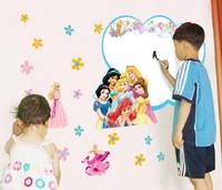 free shipping  new design large vinyl whiteboard sticker snow white wall paper for home decor/children room 60*90cm