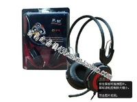 Free Shipping LED Earphones for MP3,MP4,Moile Phones,Laptop