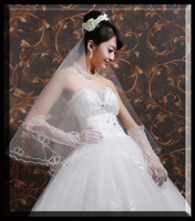 Lover wedding supplies veil champagne color beige red Pink ts-2