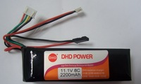 Electric devo10 jr 11.1v 8c 2200mah 8 channel remote control