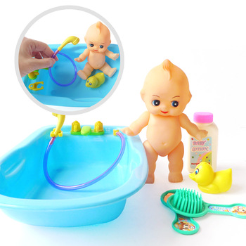 Baby water swimming toys bathtub doll baby bath toys set  cute Baby Infant Bath Tub Thermometer Water Temperature Tester Toy 27