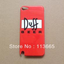 Transporte duff caso Grátis cerveja para iPod touch 5(China (Mainland))