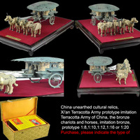 Free shipping,personalized/Business/customer gifts,Copper handicrafts, imitation of Terracotta Army relics,ATMC