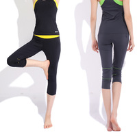 Spring and summer female yoga fitness dance clothes running pants 12850