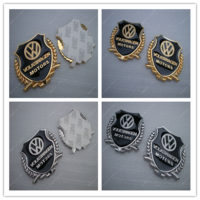 Volkswagen gold silver ear refires mark of metal emblem