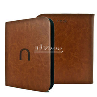 PU Leather Cover For Barnes & Noble nook simple touch case 2 3 th reader  touch case skin1 pcs free postage
