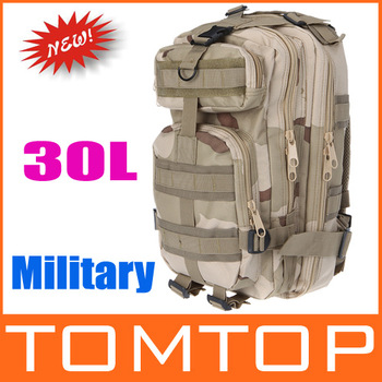3P Backpack Free shipping!30L Outdoor Sports Bag Tactical Military Backpack Rucksacks for Camping Hiking Trekking Softback