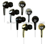 Lose Money Promotion New 3.5mm High Quality Strong Fashion Bass Rock in Headphones & in Ear Headset Buds Earphone 10pcs/lot
